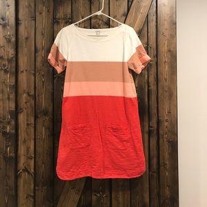 Jcrew Colorblock Shift Dress